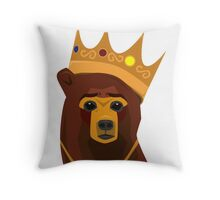 The Notorious B.E.A.R. Throw Pillow
