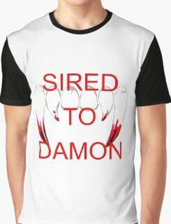 Sired to damon Graphic T-Shirt
