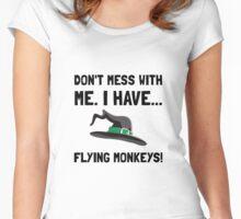 Flying Monkeys Women's Fitted Scoop T-Shirt