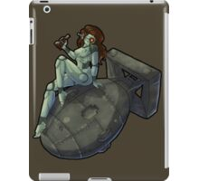 Pin Up Robot - Color iPad Case/Skin