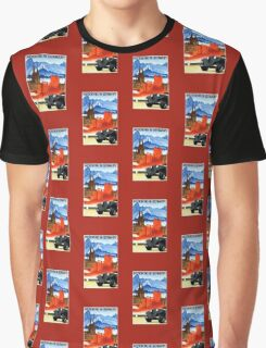 Vintage car travel Germany advert Graphic T-Shirt