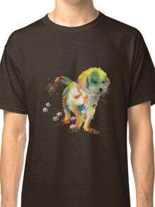 Colorful Puppy - Little Friend Classic T-Shirt