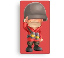 Chibi RED Soldier Canvas Print
