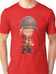 Chibi RED Soldier Unisex T-Shirt