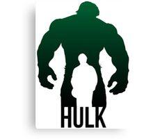 Hulk fanart Canvas Print