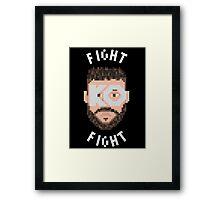 Fight KO Fight Framed Print