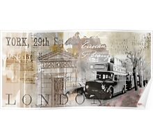 Vintage Britain Poster