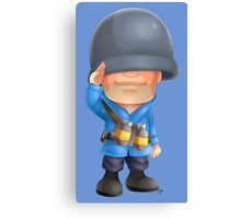 Chibi BLU Soldier Canvas Print