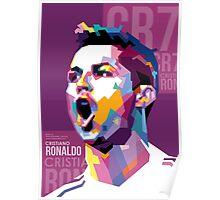 Cristiano Ronaldo – CR7 WPAP #2 Poster