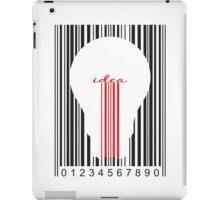 Stylish concept of idea bar code iPad Case/Skin