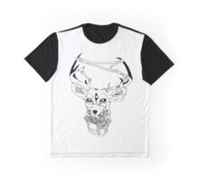 Dreadful Deer Graphic T-Shirt