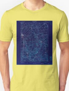 New York NY Potsdam 148217 1908 62500 Inverted T-Shirt