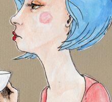 Coffee, first.  Talk, later. Sticker