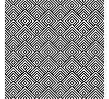seamless patterns Black white Photographic Print