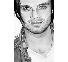 Sebastian Stan Photographic Print