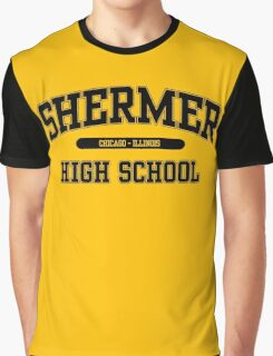 Shermer High School (Black) Graphic T-Shirt