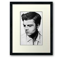 Sebastian Stan #2 Framed Print