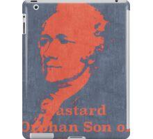 Hamilton on Broadway iPad Case/Skin