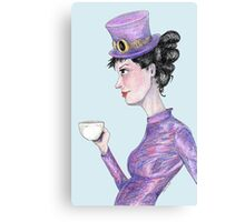 Tea at 20 paces Canvas Print
