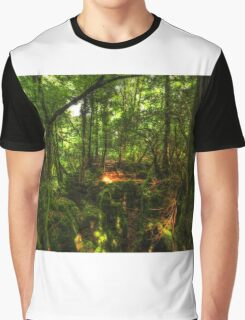 Puzzle Wood  Graphic T-Shirt