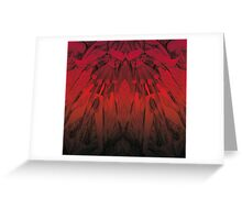 Advancing Giants Hands Greeting Card