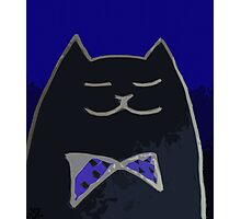 Cat in the Tux Photographic Print