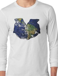 The Earth in Our Hands Long Sleeve T-Shirt