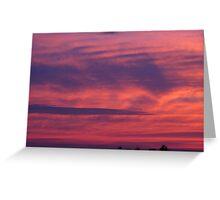 Sea Sky Greeting Card