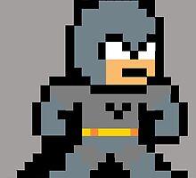 Batman Pixel Art by NBeela