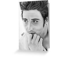 Lee Pace Greeting Card
