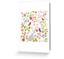 Floral Dreams Greeting Card