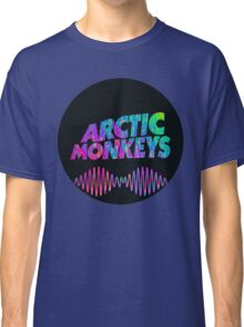 Arctic Monkeys - Logo (Psychedelic / Black)  Classic T-Shirt