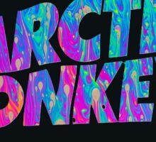Arctic Monkeys - Logo (Psychedelic / Black)  Sticker