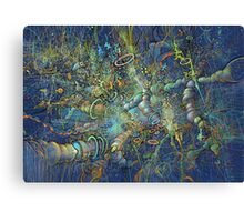 space 2 (iso) Multiverse Canvas Print