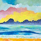 Simple Seascape III by Carolina  Coto