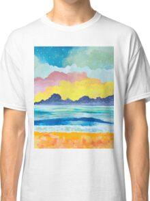 Simple Seascape III Classic T-Shirt