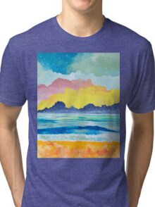 Simple Seascape III Tri-blend T-Shirt
