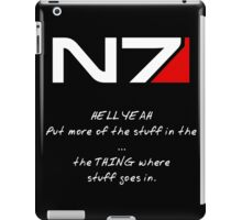 N7 - HELL YEAH iPad Case/Skin