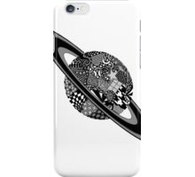 Patterned planet iPhone Case/Skin