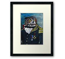 General Noctua Framed Print