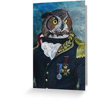 General Noctua Greeting Card