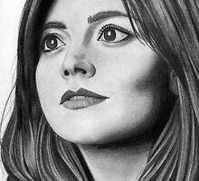 Jenna Coleman by amyvalhalla