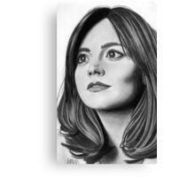 Jenna Coleman Canvas Print