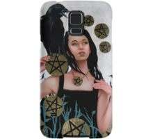Nine of Pentacles Samsung Galaxy Case/Skin