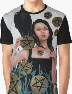 Nine of Pentacles Graphic T-Shirt