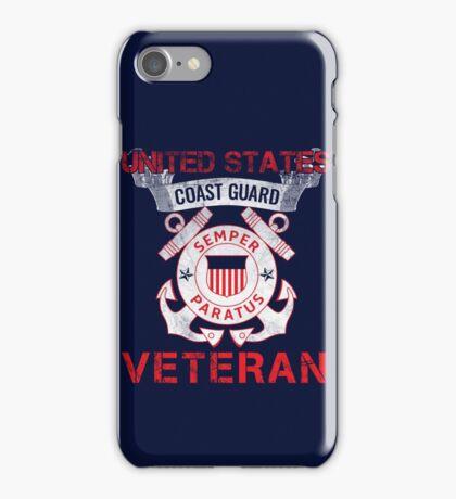 Coast Guard Veteran iPhone Case/Skin