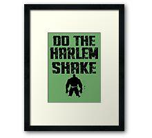 I kinda... broke Harlem Framed Print
