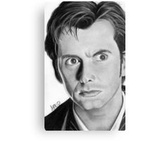 The Doctor Canvas Print