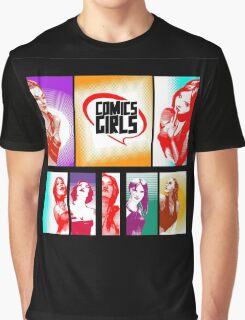 Comics Girls Graphic T-Shirt