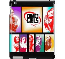 Comics Girls iPad Case/Skin